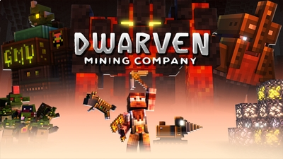 Dwarven Mining Company on the Minecraft Marketplace by Gamemode One