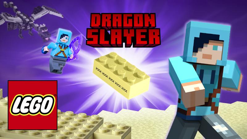 Lego R Minecraft Tm Dragon Slayer In Minecraft Marketplace Minecraft