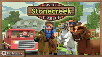 Stonecreek Stables on the Minecraft Marketplace by Octovon