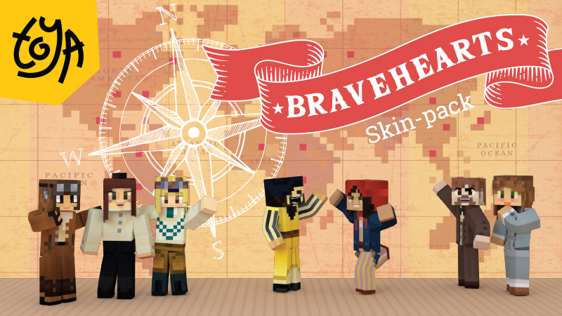 Bravehearts Skin Pack on the Minecraft Marketplace by Toya