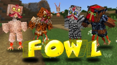 Fowl on the Minecraft Marketplace by Wandering Wizards
