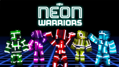 Neon Warriors Skin Pack on the Minecraft Marketplace by InPvP