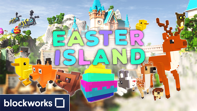 Easter Island on the Minecraft Marketplace by Blockworks