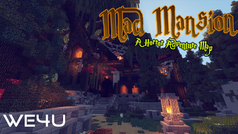 Mad Mansion on the Minecraft Marketplace by We4u
