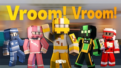 Vroom Vroom  Skin Pack on the Minecraft Marketplace by InPvP
