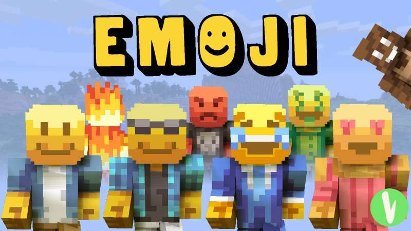 Emoji Skin Pack on the Minecraft Marketplace by Visula