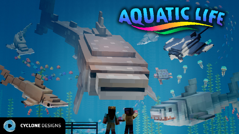 Aquatic Life on the Minecraft Marketplace by Cyclone