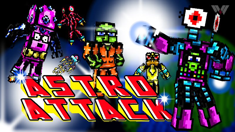 Astro Attack on the Minecraft Marketplace by Wandering Wizards