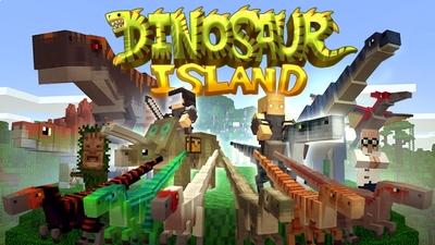 Dinosaur Island on the Minecraft Marketplace by PixelHeads