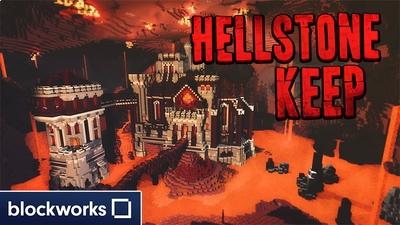 Hellstone Keep on the Minecraft Marketplace by Blockworks