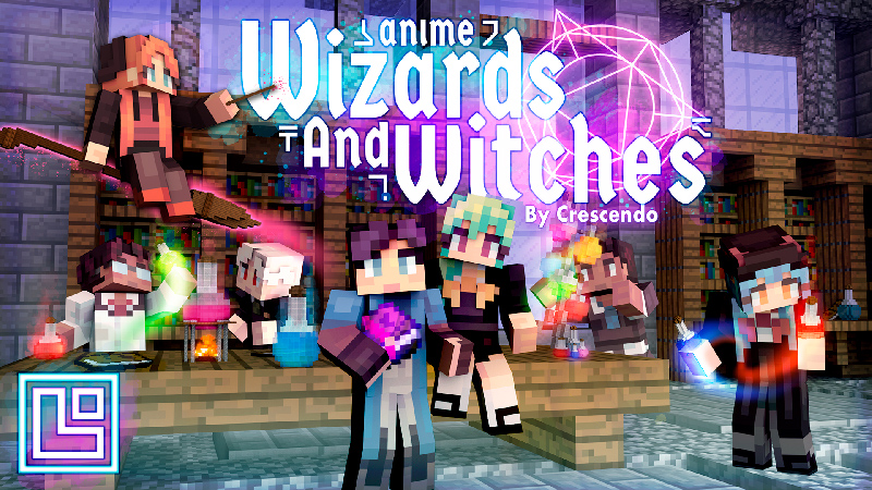 Anime Wizards and Witches on the Minecraft Marketplace by Pixel Squared