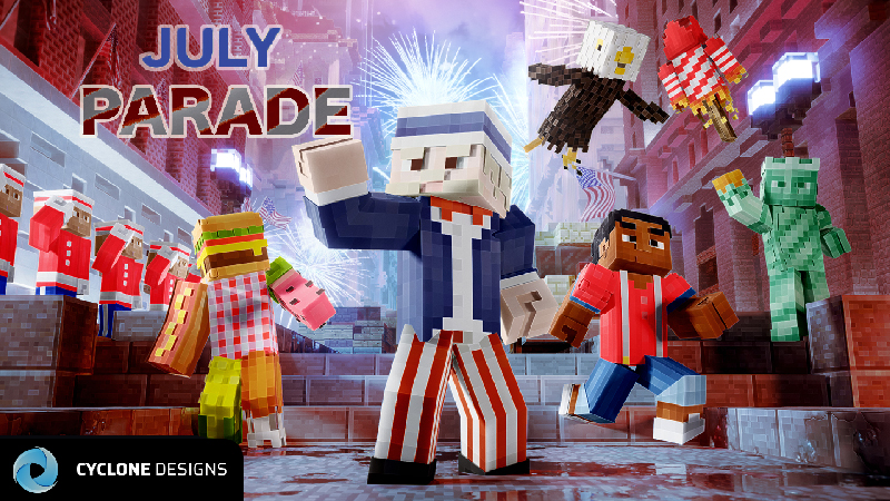 July Parade on the Minecraft Marketplace by Cyclone Designs
