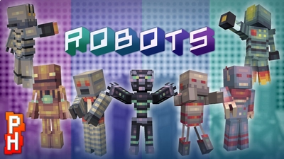 Robots Skin Pack on the Minecraft Marketplace by PixelHeads