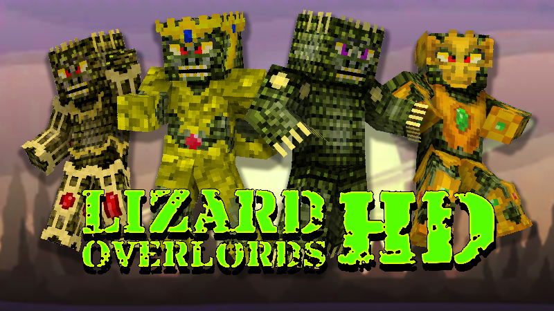 Lizard Overlords HD on the Minecraft Marketplace by Wandering Wizards
