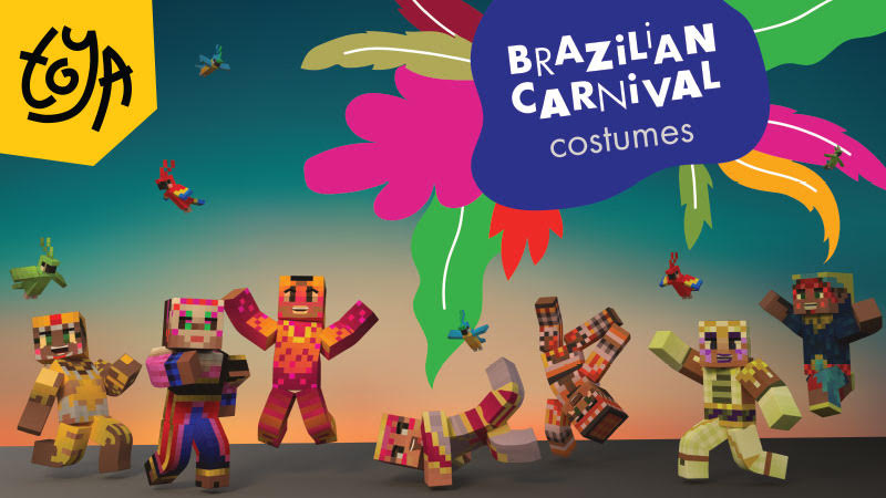 Brazilian Carnival Costumes   on the Minecraft Marketplace by Toya