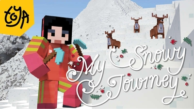 My Snowy Journey on the Minecraft Marketplace by Toya