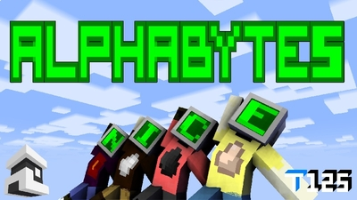 Alphabytes on the Minecraft Marketplace by Project Moonboot
