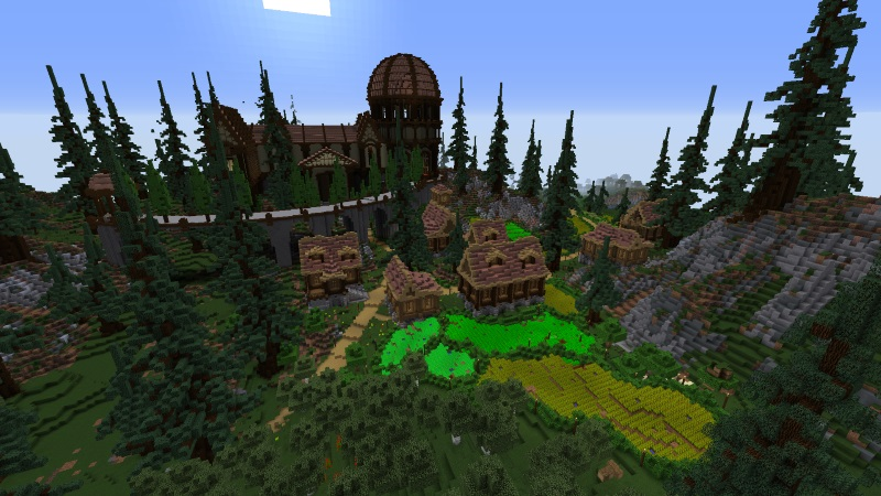 Farming Valley on the Minecraft Marketplace by Norvale