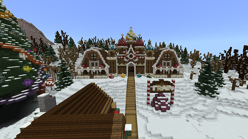 Winter Fest on the Minecraft Marketplace by Blockception