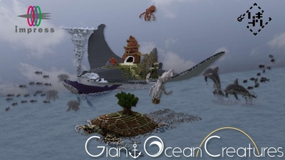 Giant Ocean Creatures on the Minecraft Marketplace by Impress