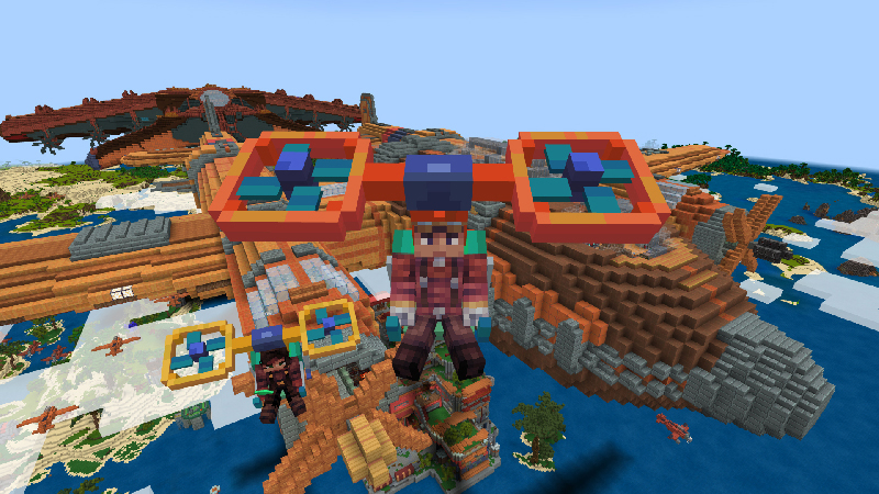 Cloud Jumper on the Minecraft Marketplace by Cyclone