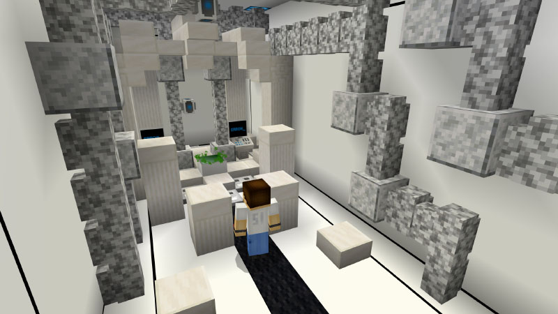Escaping: The Experiment on the Minecraft Marketplace by Pixelusion
