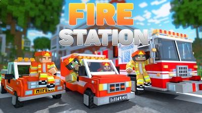 Fire Station Roleplay on the Minecraft Marketplace by Mineplex