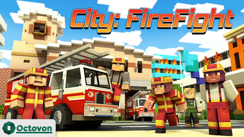 City Firefight on the Minecraft Marketplace by Octovon