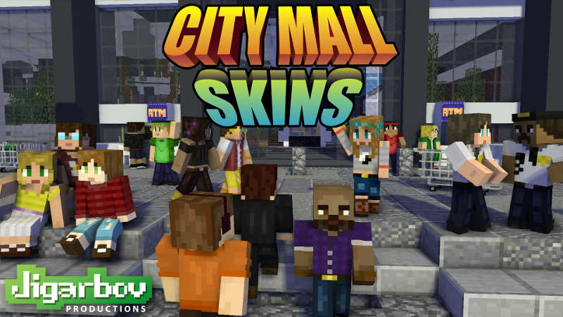Play City Mall Skins on the Minecraft Marketplace by Jigarbov Productions