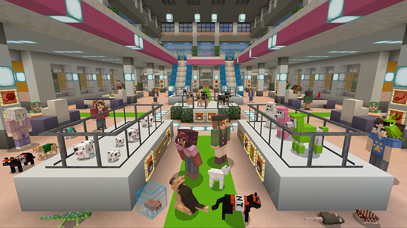 Pet Shop In Minecraft Marketplace Minecraft