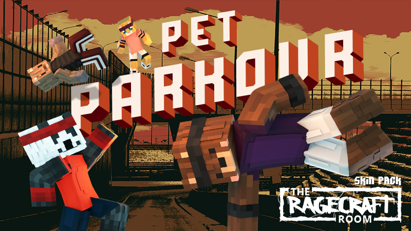 Pet Parkour on the Minecraft Marketplace by The Rage Craft Room
