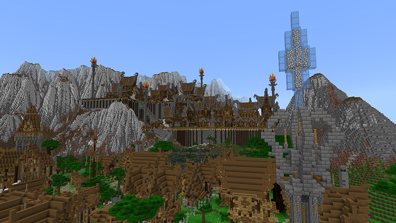 City of Silva on the Minecraft Marketplace by LinsCraft