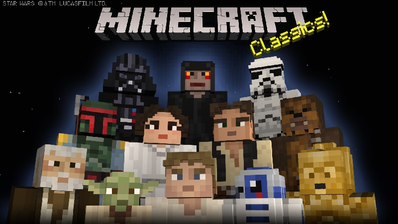 Star Wars Classic Skin Pack on the Minecraft Marketplace by Minecraft