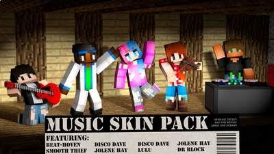 Music on the Minecraft Marketplace by CubeCraft Games