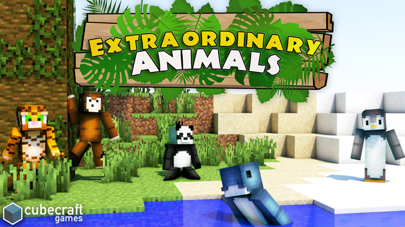 Extraordinary Animals on the Minecraft Marketplace by CubeCraft Games