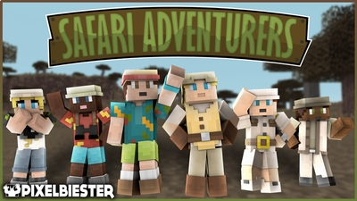Safari Adventurers on the Minecraft Marketplace by Pixelbiester