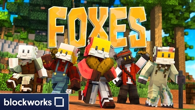 Foxes on the Minecraft Marketplace by Blockworks