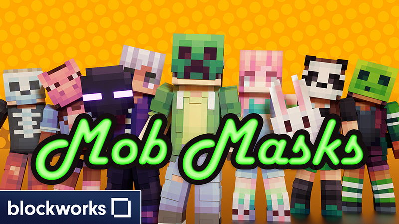 Mob Masks on the Minecraft Marketplace by Blockworks