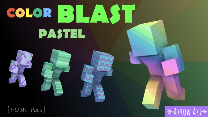 Color Blast Pastel on the Minecraft Marketplace by Arrow Art Games