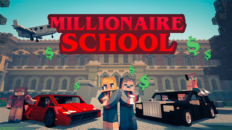 Millionaire School on the Minecraft Marketplace by InPvP