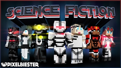 Science Fiction on the Minecraft Marketplace by Pixelbiester
