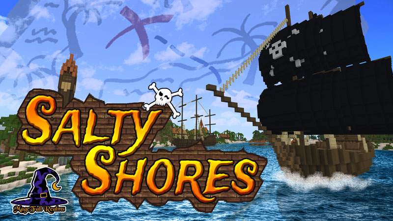Salty Shores on the Minecraft Marketplace by Magefall