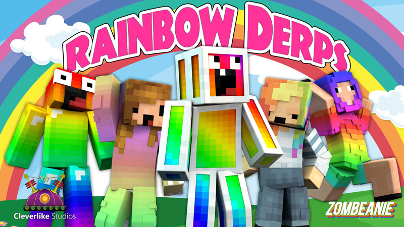 Rainbow Derps on the Minecraft Marketplace by Cleverlike