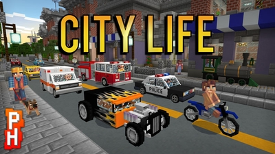 City Life on the Minecraft Marketplace by PixelHeads