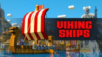 Viking Ships on the Minecraft Marketplace by Team Vaeron