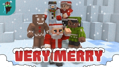 Very Merry Skin Pack on the Minecraft Marketplace by Polymaps