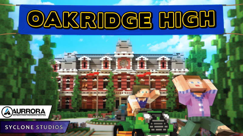 Oakridge High on the Minecraft Marketplace by Syclone Studios