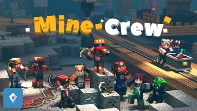 Mine Crew on the Minecraft Marketplace by Sapphire Studios