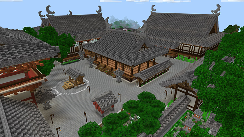 Shrine of Crescent Moon on the Minecraft Marketplace by LinsCraft
