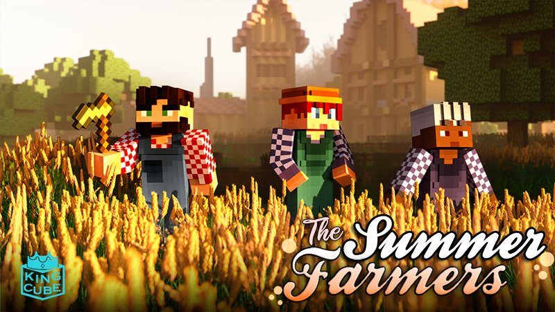 Summer Farmers on the Minecraft Marketplace by King Cube